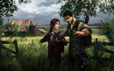 Ellie and Joel - The Last of Us [2] wallpaper