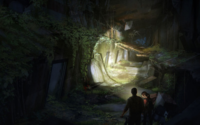 Ellie and Joel - The Last of Us [4] wallpaper