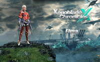 Elma on a cliff - Xenoblade Chronicles X wallpaper 1920x1200 jpg