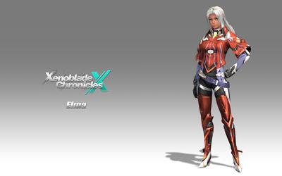 Elma - Xenoblade Chronicles X wallpaper