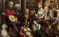 Elves in Dragon Age 2 wallpaper 1920x1200 jpg