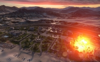 Explosion in Battlefield 3 wallpaper 1920x1200 jpg