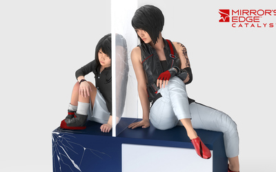 Faith as a child in Mirror's Edge Catalyst wallpaper