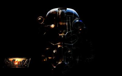 Fallout 4 armor helmet wallpaper