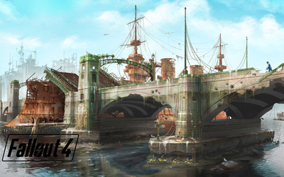 Fallout 4 bridge wallpaper