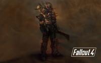Fallout 4 raider holding a machete wallpaper 3840x2160 jpg