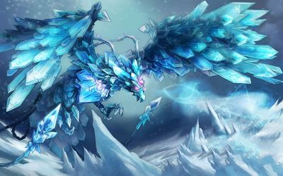 Fantasy bird in League of Legends wallpaper