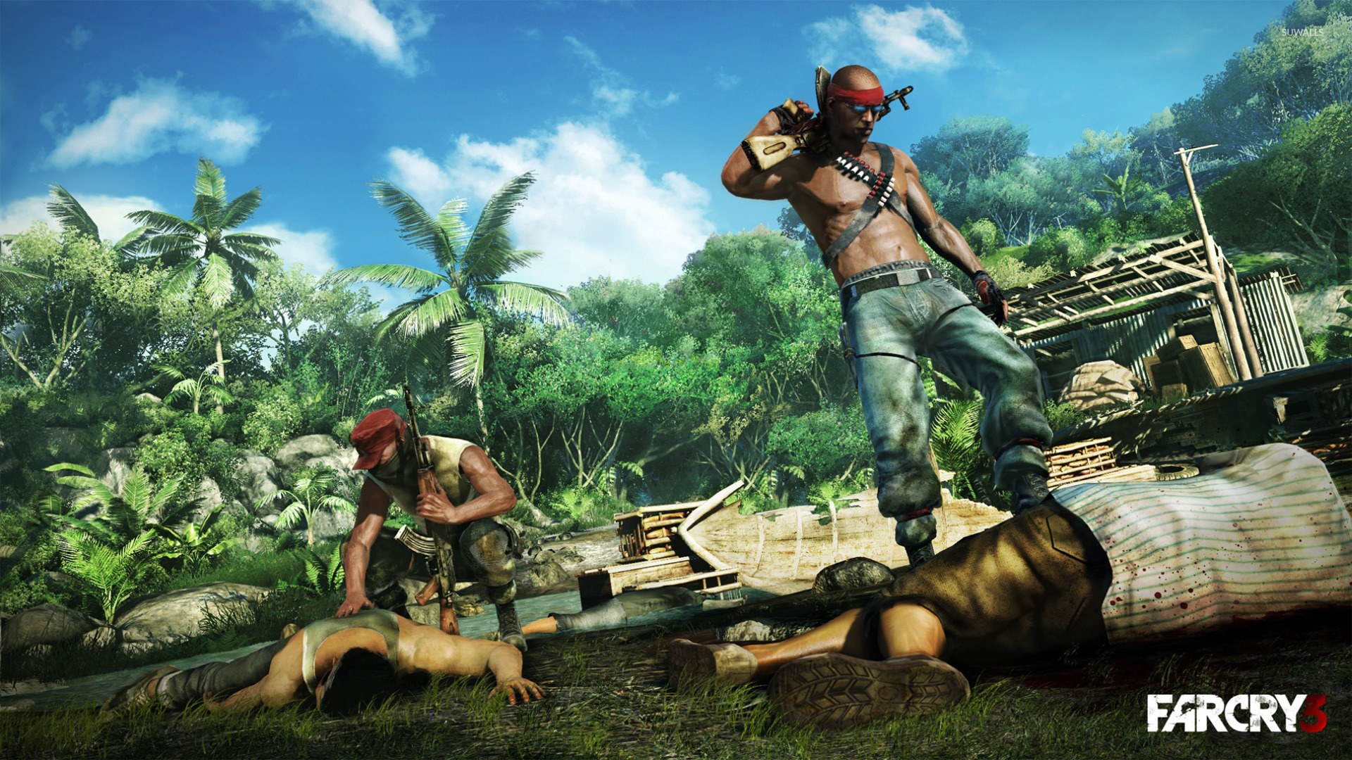 ultra hd far cry 3 wallpaper
