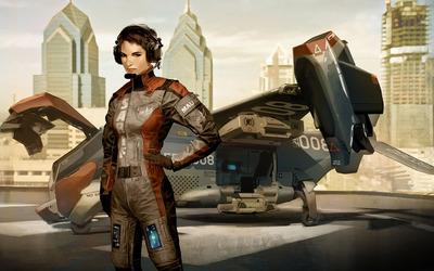 Faridah Malik - Deus Ex: Human Revolution wallpaper