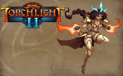 Female Embermage - Torchlight II wallpaper