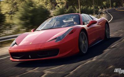 Ferrari 458 Spyder - Need for Speed: Rivals wallpaper