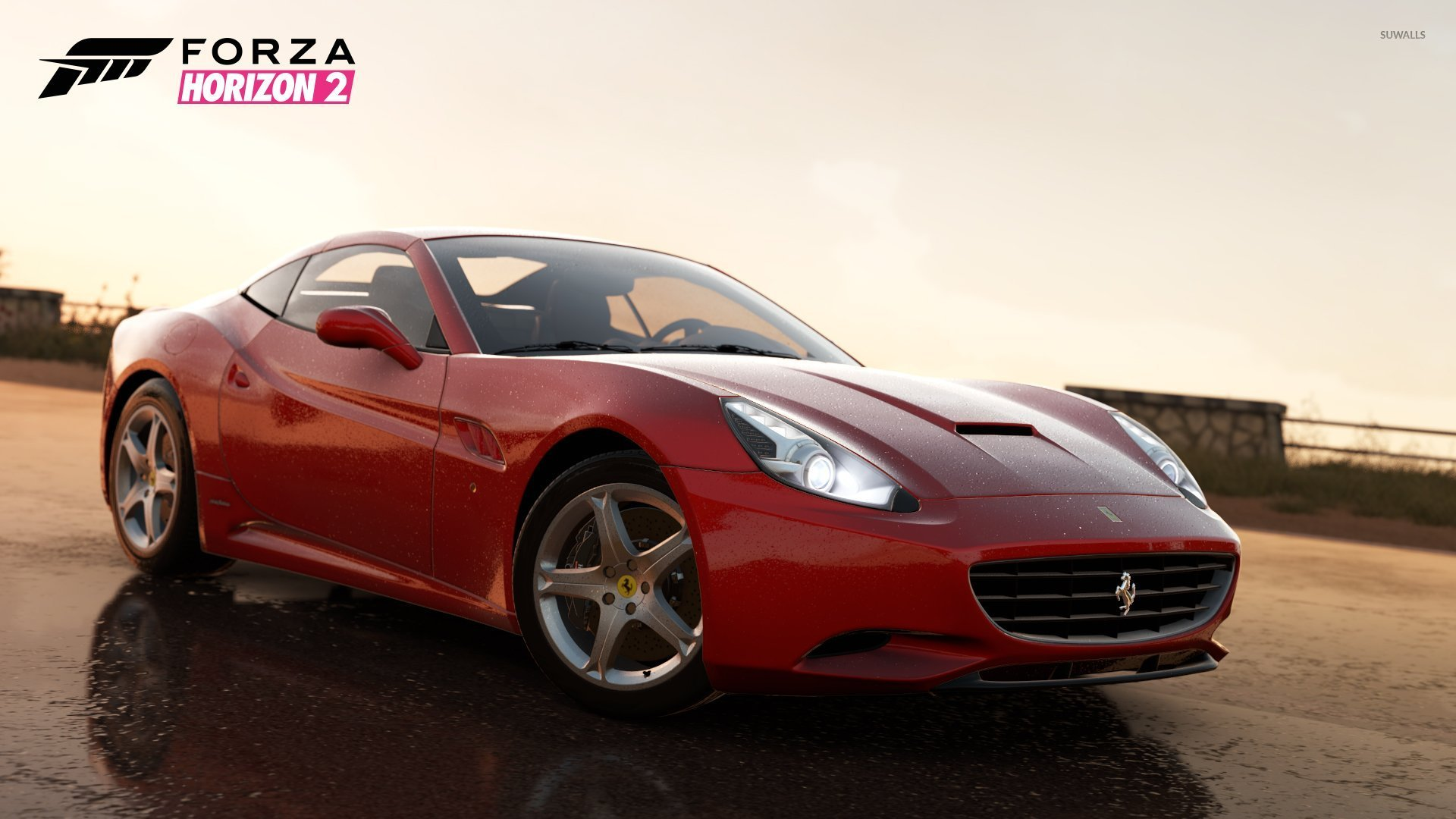 ferrari california forza horizon 2 wallpaper game. Black Bedroom Furniture Sets. Home Design Ideas