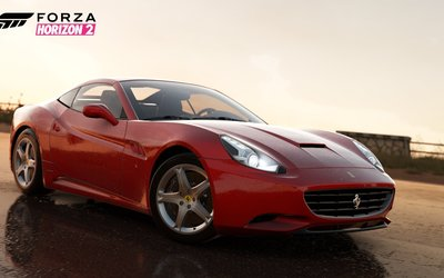 Ferrari California - Forza Horizon 2 wallpaper