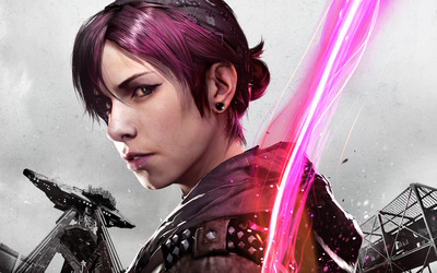 Fetch - Infamous: First Light wallpaper