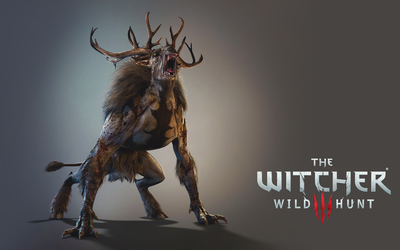 Fiend roaring - The Witcher 3: Wild Hunt wallpaper