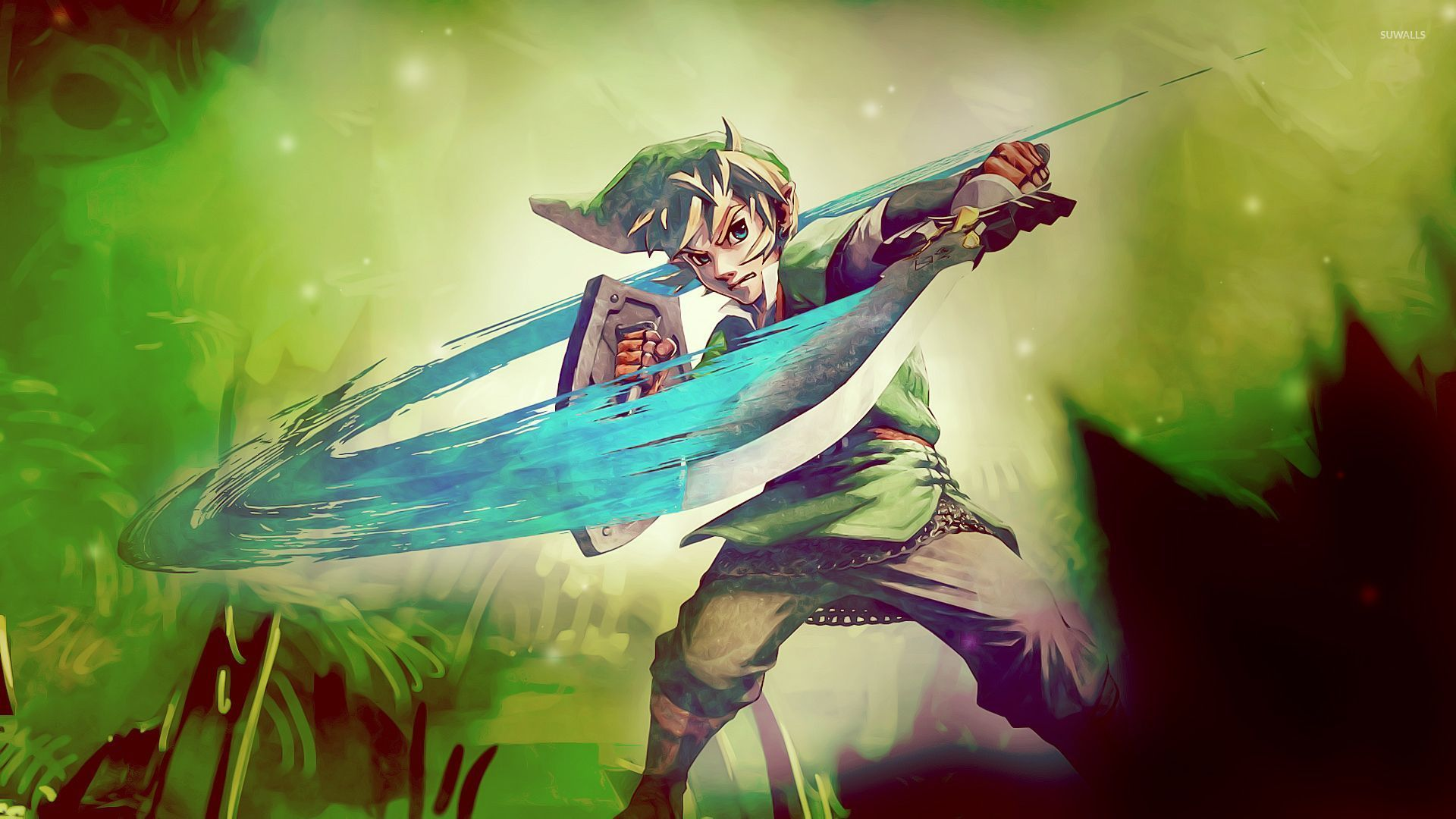 Fighting Link Legenf Of Zelda Wallpaper Game Wallpapers 53984