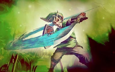 Fighting Link - Legenf of Zelda wallpaper
