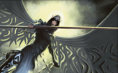 Filigree Angel - Magic: The Gathering wallpaper