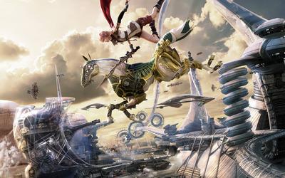 Lightning - Final Fantasy XIII [5] wallpaper