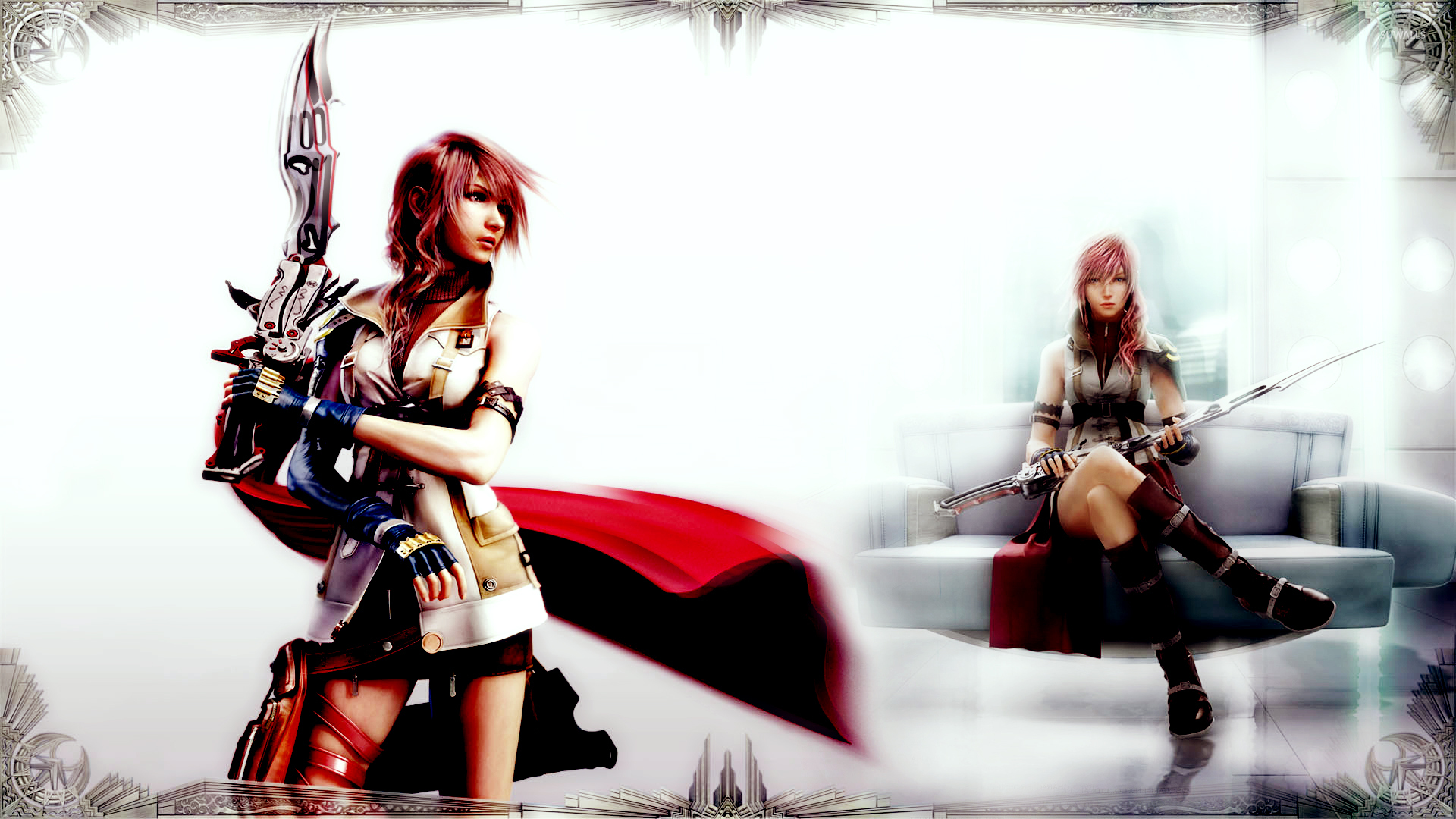 Lightning Final Fantasy Xiii 8 Wallpaper Game Wallpapers 4675