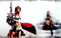 Lightning - Final Fantasy XIII [8] wallpaper 1920x1080 jpg