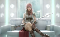 Lightning - Final Fantasy XIII [2] wallpaper 1920x1200 jpg