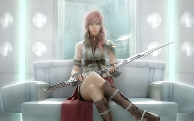 Lightning - Final Fantasy XIII [2] wallpaper