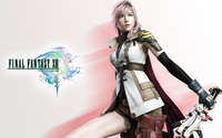 Lightning - Final Fantasy XIII [6] wallpaper 1920x1200 jpg