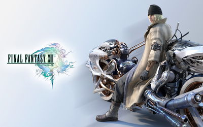 Snow Villiers - Final Fantasy XIII wallpaper