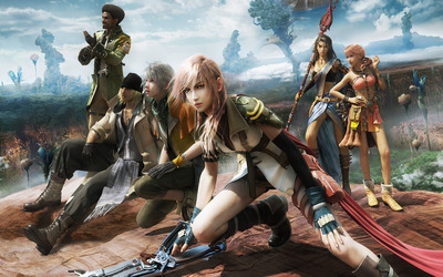 Final Fantasy XIII [3] wallpaper
