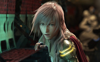 Lightning - Final Fantasy XIII [7] wallpaper 1920x1200 jpg