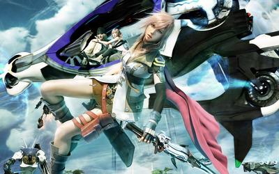 Lightning - Final Fantasy XIII [3] wallpaper