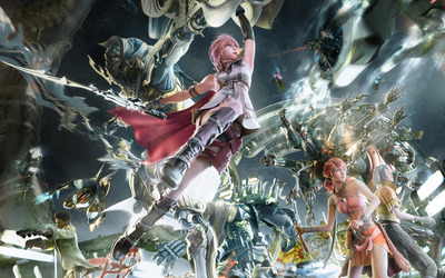 Lightning - Final Fantasy XIII wallpaper