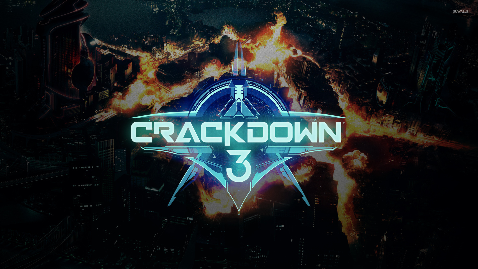 Fire In The City In Crackdown 3 Wallpaper Game Wallpapers 52830
