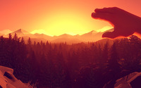 Firewatch wallpaper 1920x1080 jpg