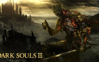 Flaming knight in Dark Souls III wallpaper 1920x1080 jpg