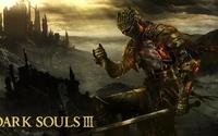 Flaming knight in Dark Souls III wallpaper 1920x1080 jpg