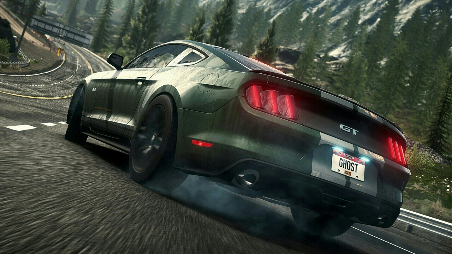 Ford Mustang Gt Need For Speed Rivals Wallpaper Game Wallpapers