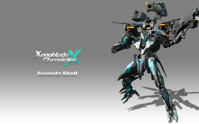 Formula Skell - Xenoblade Chronicles X wallpaper