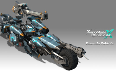 Formula Vehicle - Xenoblade Chronicles X wallpaper