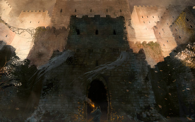 Fortress wallpaper