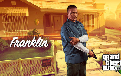 Franklin - Grand Theft Auto V [2] wallpaper
