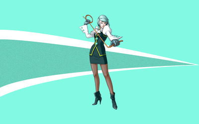 Franziska - Phoenix Wright: Ace Attorney wallpaper