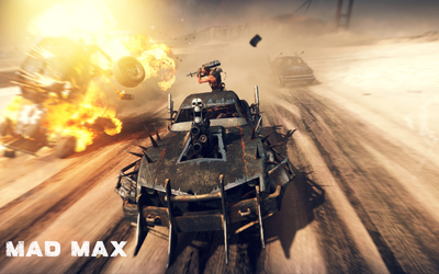 Furnace in Mad Max wallpaper