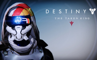 FWC Hunter female helmet - Destiny: The Taken King wallpaper 3840x2160 jpg