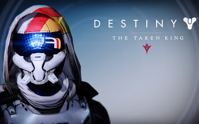 FWC Hunter female helmet - Destiny: The Taken King wallpaper