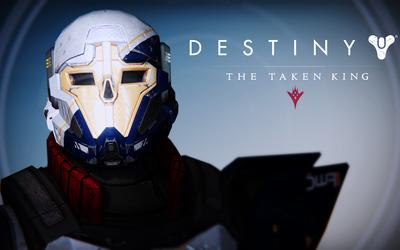 FWC Titan Male helmet - Destiny: The Taken King wallpaper