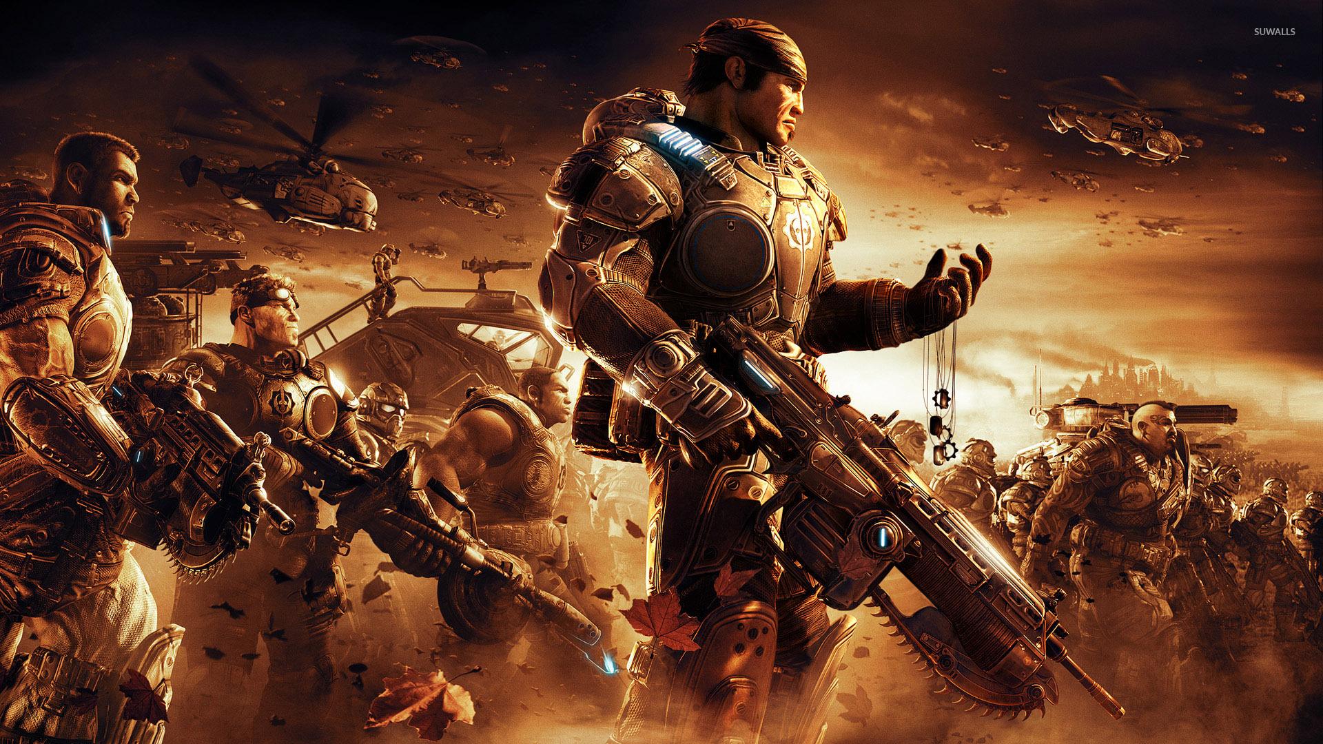 Gears Of War 2 Wallpaper Game Wallpapers 4868