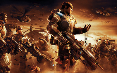 Gears of War 2 wallpaper