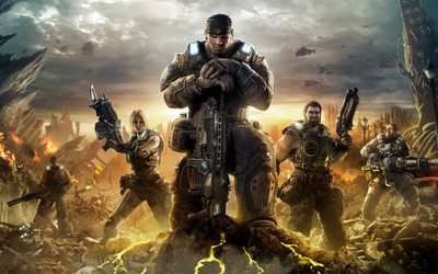 Gears of War 3 [4] wallpaper